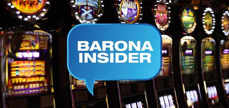 Slot machines at Barona for the Barona Insider